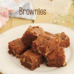 Brownie de chocolate y nueces receta (t)