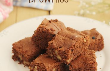 Brownie de chocolate y nueces receta (t)