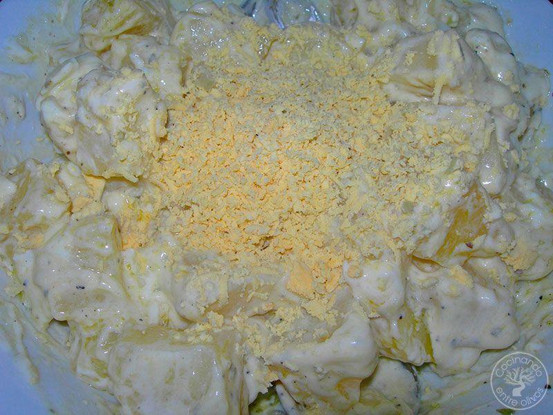 Patatas a la vinagreta receta