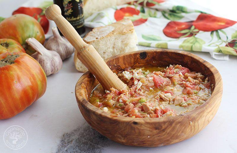 Pipirrana de Jaén receta