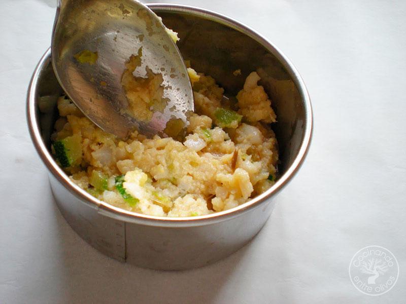 Hamburguesa de pescado al horno