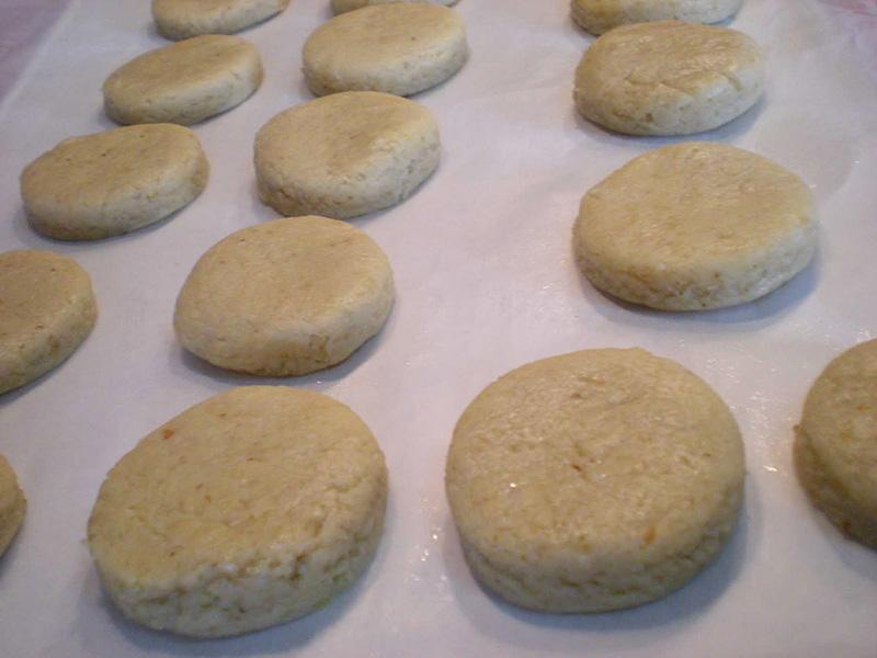 scones de queso y frutos secos