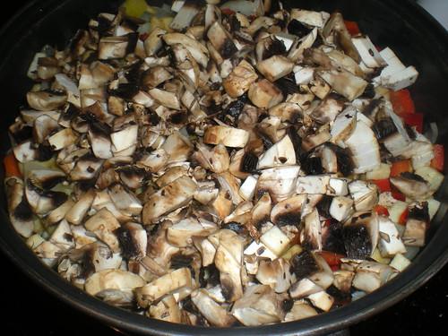 Lasaña de verdura y atún