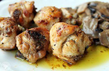 Pollo al ajillo receta Cocinando entre olivos (6)