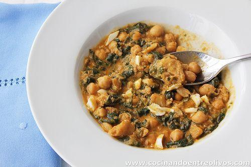 Potaje de vigilia o de cuaresma paso a paso cocinando for Cocinando entre olivos
