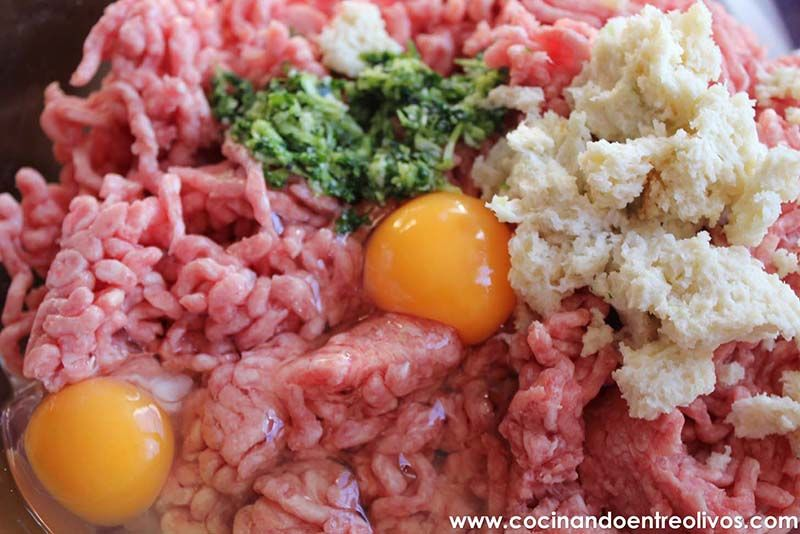 Albondigas en caldo receta (3)