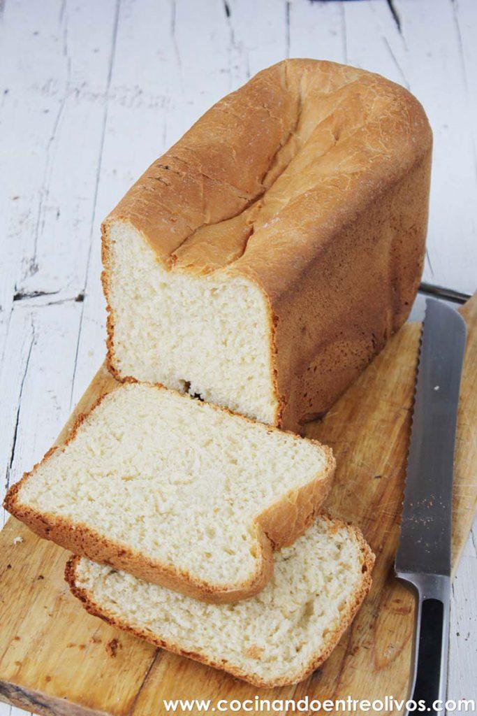 Receta de Pan de molde en panficadora