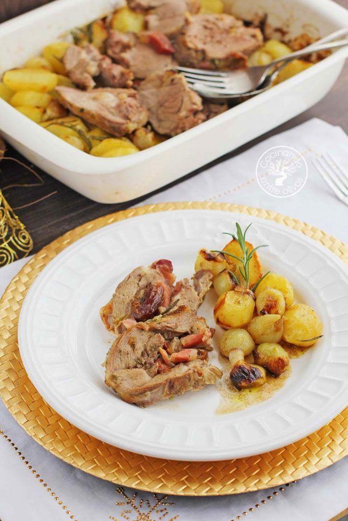 Pierna de cordero rellena al horno receta paso a paso for Cocinando entre olivos navidad