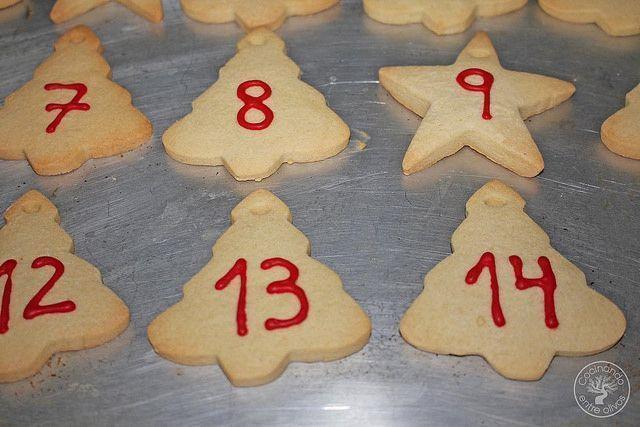 Calendario de Adviento con galletas www.cocinandoentreolivos.com (11)