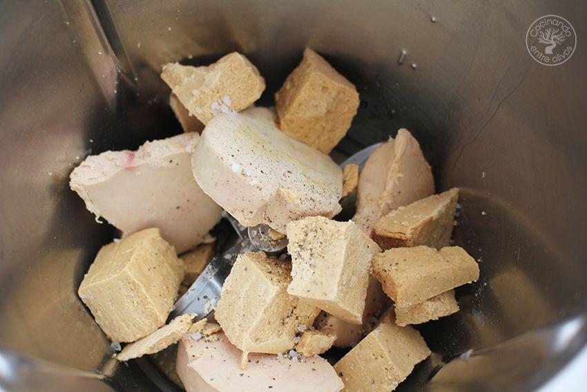 Cómo hacer Bombones de foie y turron paso 2