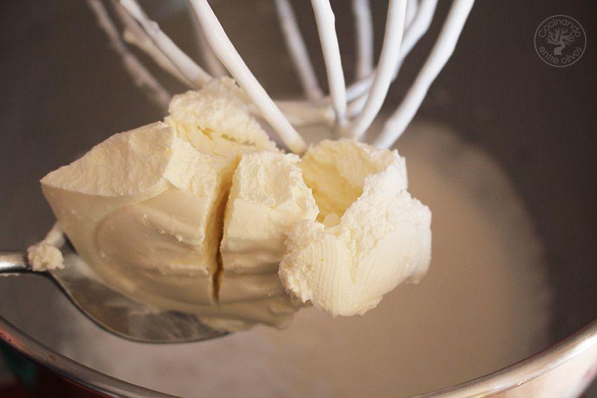 como hacer mousse de chocolate blanco paso 6