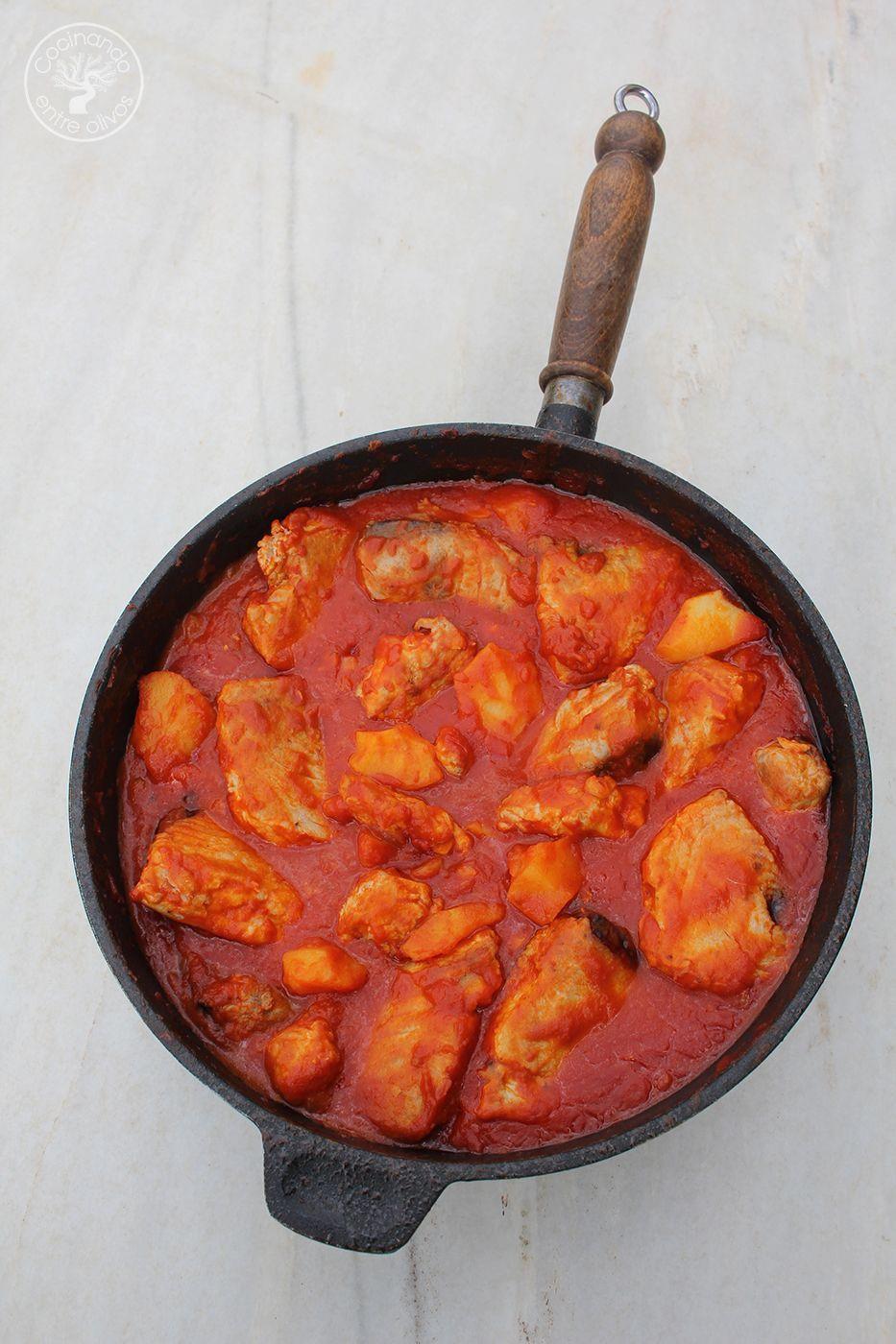 Bonito con tomate www.cocinandoentreolivos.com (10)