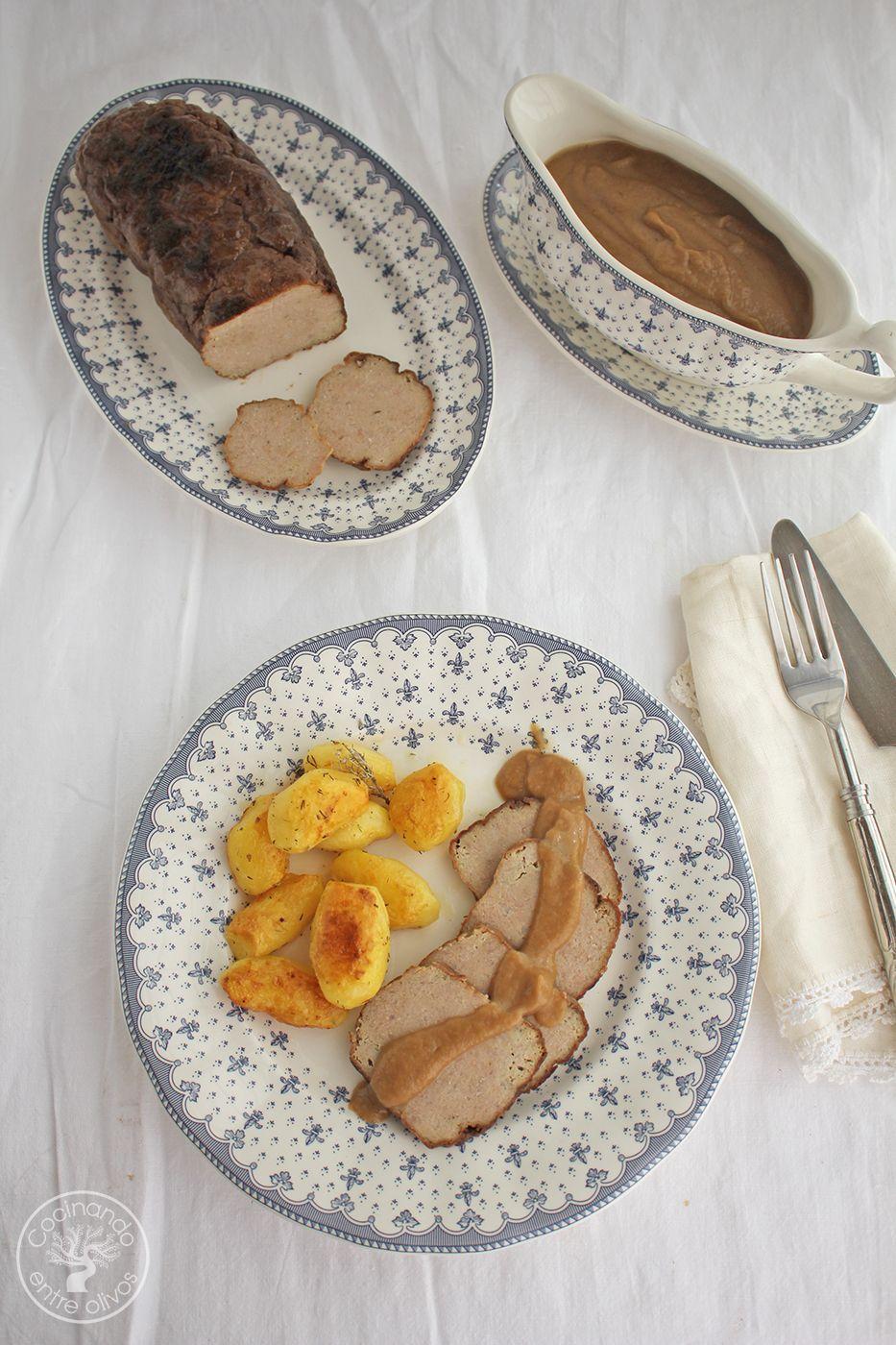 Receta Rollo de carne picada con salsa www.cocinandoentreolivos.com (1)