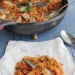 Fideos con caballa receta www.cocinandoentreolivos.com (1)