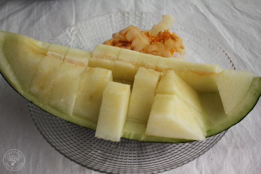 Receta Ajoblanco de melon con langostinos www.cocinandoentreolivos.com (23)