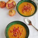 Crema de boniato, calabacin, granada y aove www.cocinandoentreolivos.com (15)