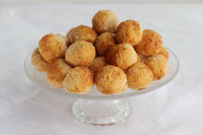 Panellets de coco, almendra y boniato www.cocinandoentreolivos.com (21)
