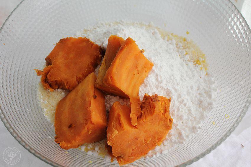 Panellets de coco, almendra y boniato www.cocinandoentreolivos.com (7)