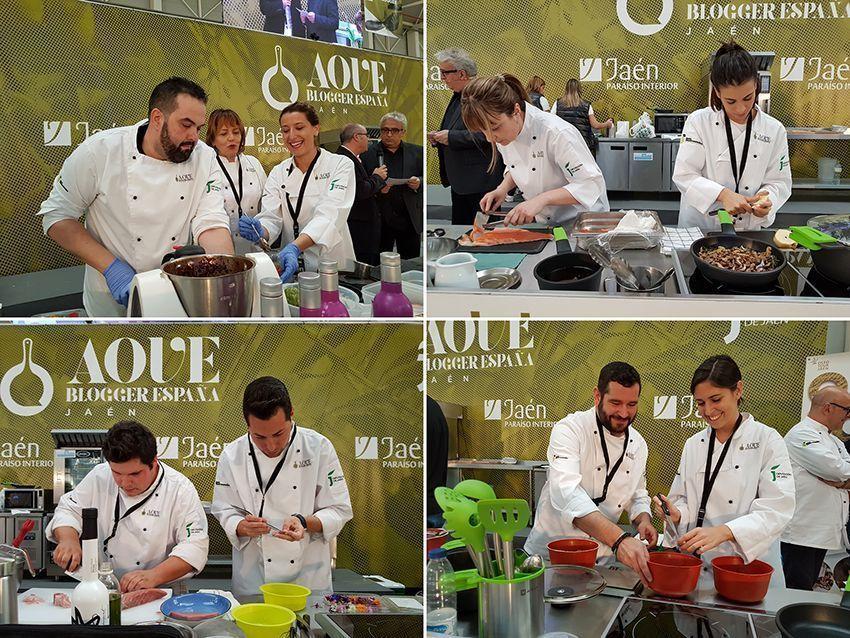 Aoveblogger17 2 cocinando entre olivos for Cocinando entre olivos