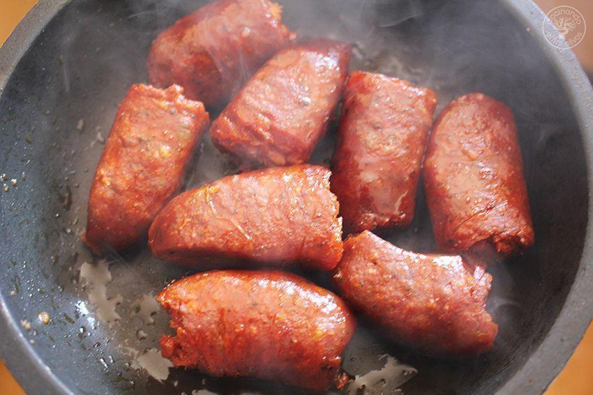 Garbanzos con tagarninas y chorizo www.cocinandoentreolivos.com (12)