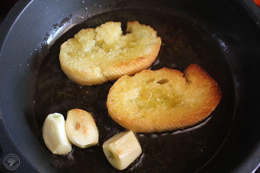 Garbanzos con tagarninas y chorizo www.cocinandoentreolivos.com (9)