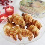 Mini croissants o cruasanes de membrillo, queso azul y jamon york (4)