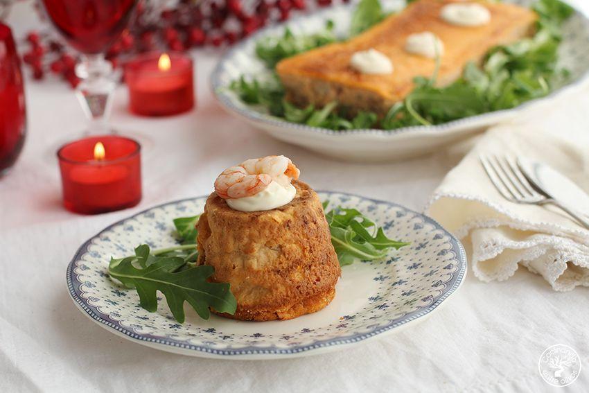 Pastel de rape y gambas al vermú o vermut www.cocinandoentreolivos.com (16)