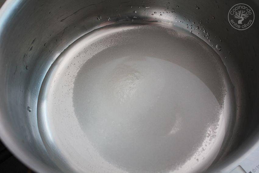 Crema bávara de chocolate blanco con mermelada de aceituna negra y frutos rojos (17)