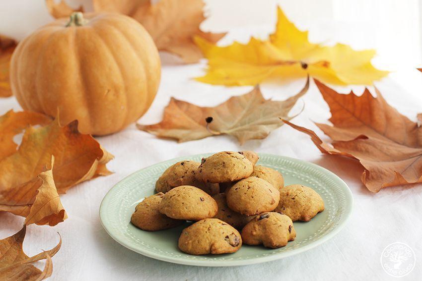 Galletas de calabaza, chocolate y aove www.cocinandoentreolivos.com (19)
