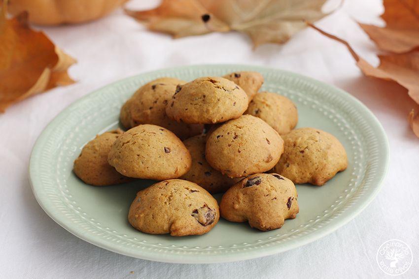 Galletas de calabaza, chocolate y aove www.cocinandoentreolivos.com (20)