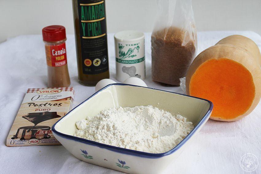 Galletas de calabaza, chocolate y aove www.cocinandoentreolivos.com (3)