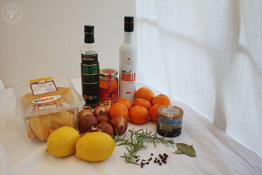 Pollo asado al horno con mandarinas www.cocinandoentreolivos.com (1)