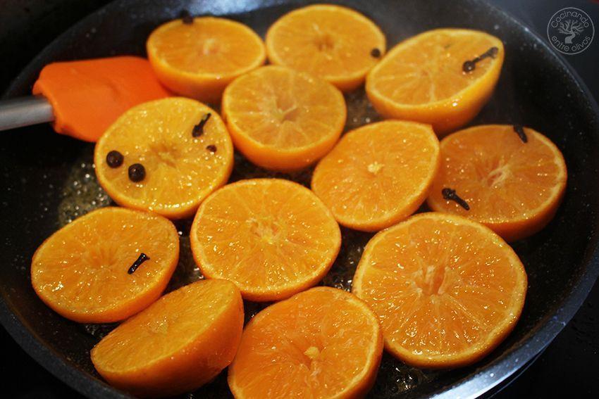 Pollo asado al horno con mandarinas www.cocinandoentreolivos.com (20)