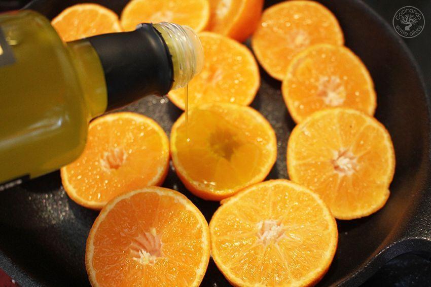 Pollo asado al horno con mandarinas www.cocinandoentreolivos.com (8)