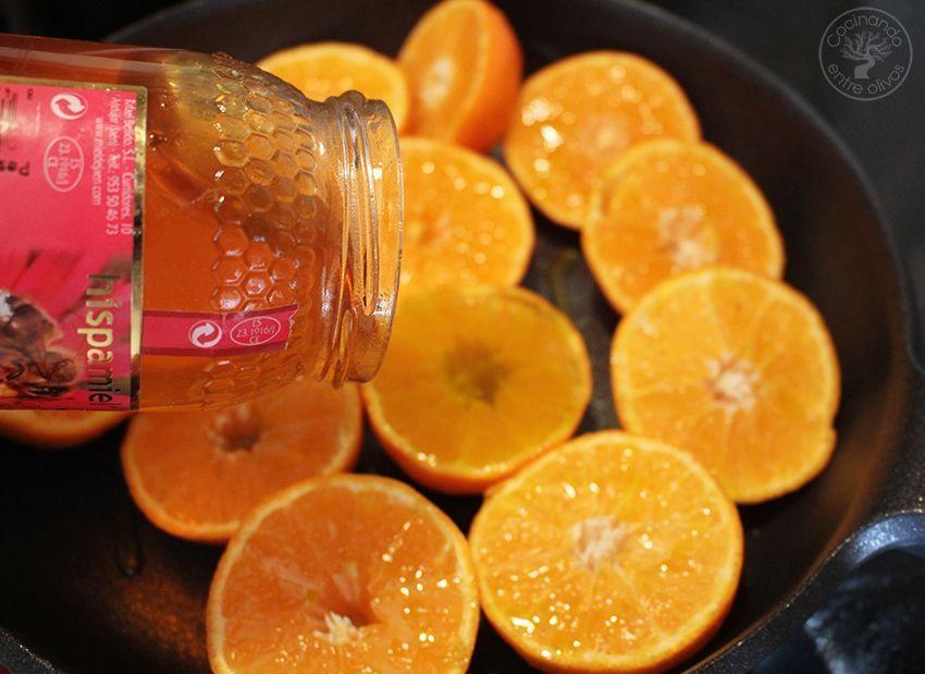 Pollo asado al horno con mandarinas www.cocinandoentreolivos.com (9)