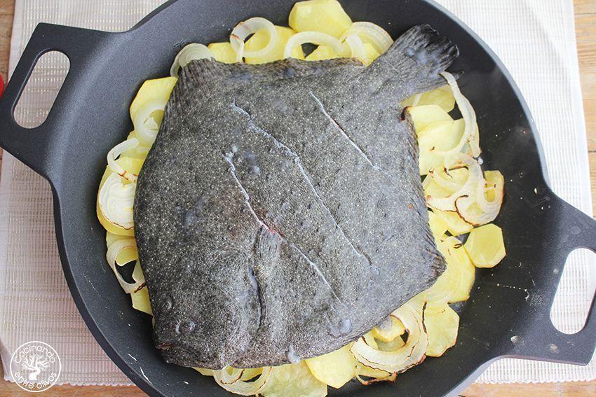 Rodaballo al horno www.cocinandoentreolivos.com (11)