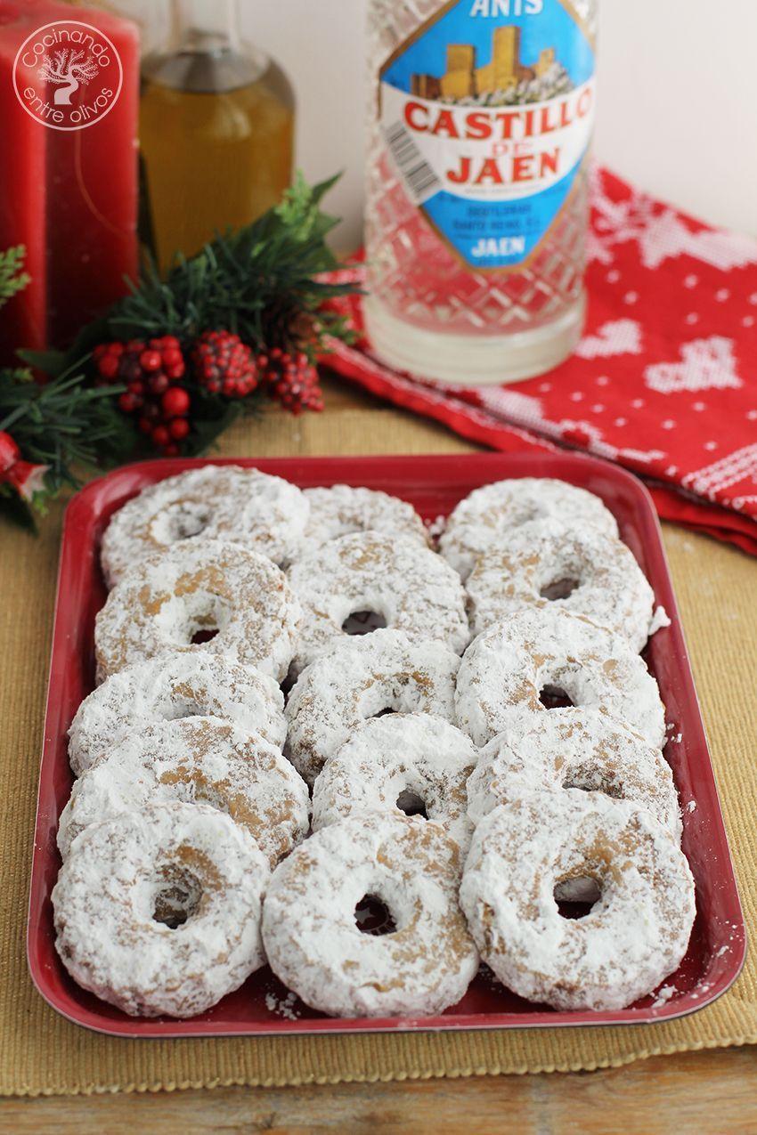 Roscos de anis Navidad www.cocinandoentreolivos.com (2)