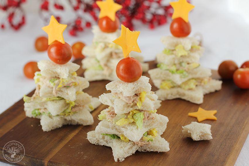 Sandwiches navideños Navidad www.cocinandoentreolivos.com (15)