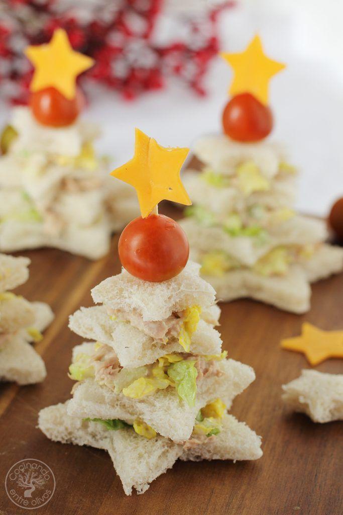 Sandwiches navideños Navidad www.cocinandoentreolivos.com (16)