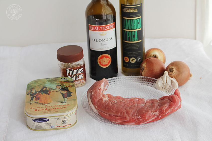 Solomillo de cerdo en salsa de membrillo (1)
