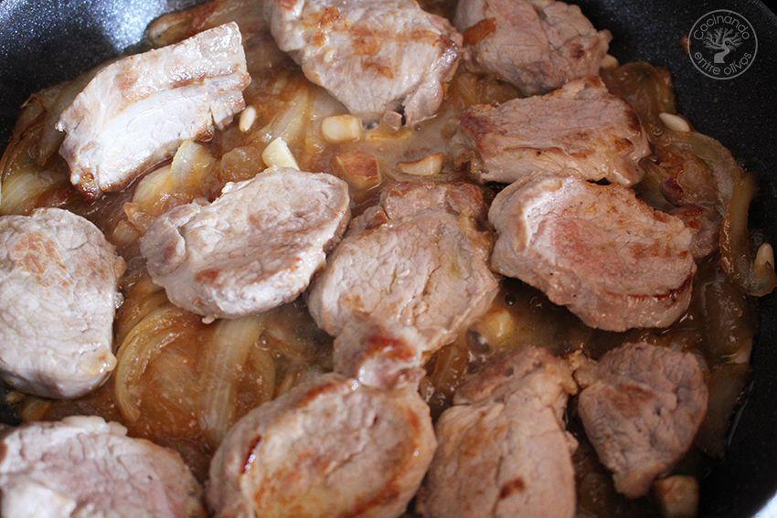 Solomillo de cerdo en salsa de membrillo (10)