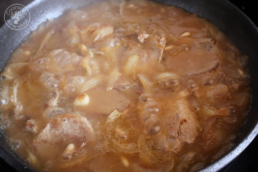 Solomillo de cerdo en salsa de membrillo (14)