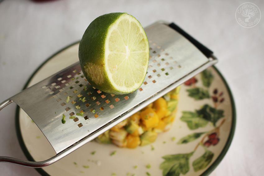 Tartar de aguacate, mango y langostinos (19)