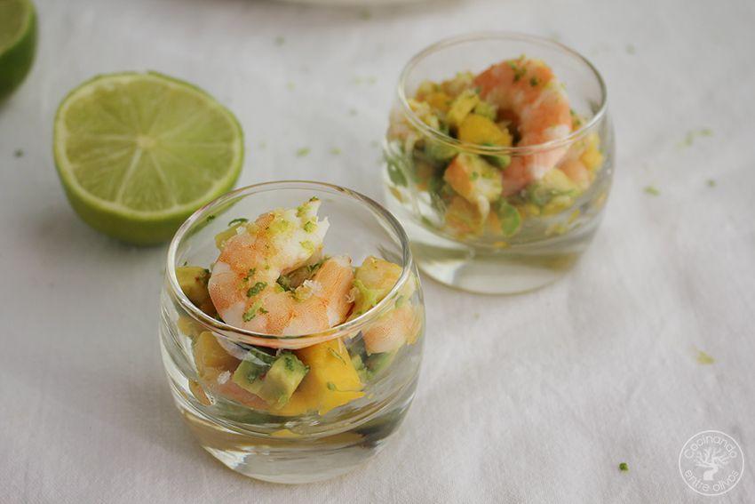 Tartar de aguacate, mango y langostinos (26)