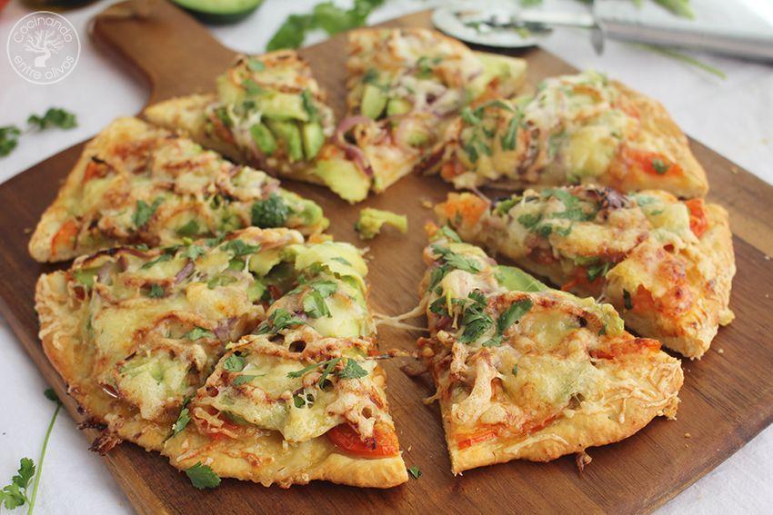 Pizza de aguacate www.cocinandoentreolivos.com (2)