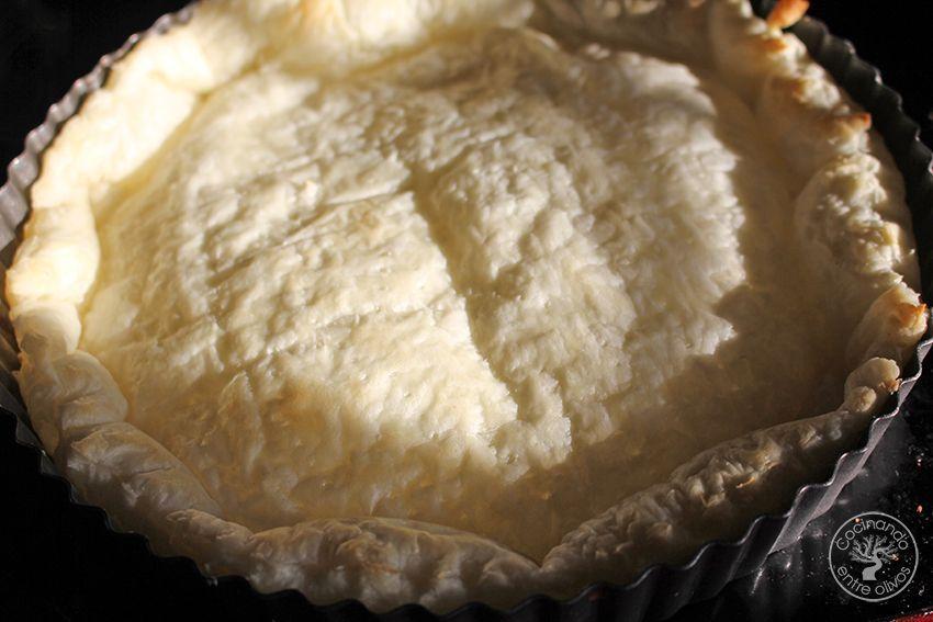 Tarta de mango y requesón con hojaldre (12)