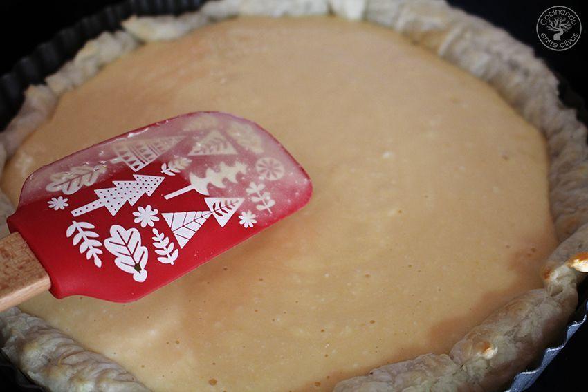 Tarta de mango y requesón con hojaldre (13)