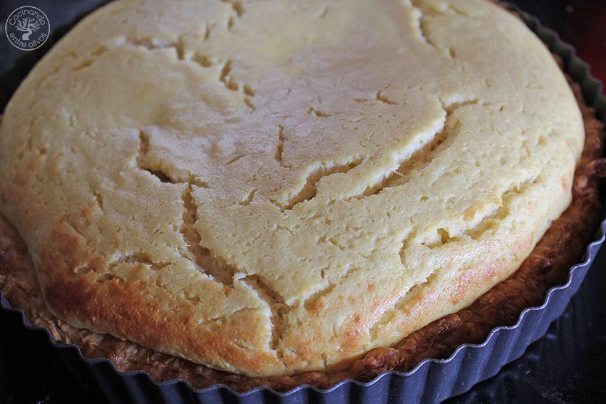Tarta de mango y requesón con hojaldre (15)