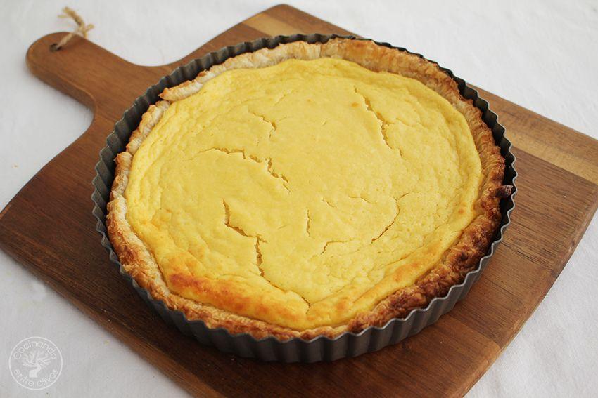 Tarta de mango y requesón con hojaldre (16)