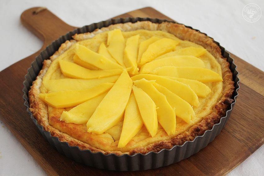 Tarta de mango y requesón con hojaldre (18)